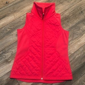 Columbia Quilted Puffer Pink Vest Women's Small